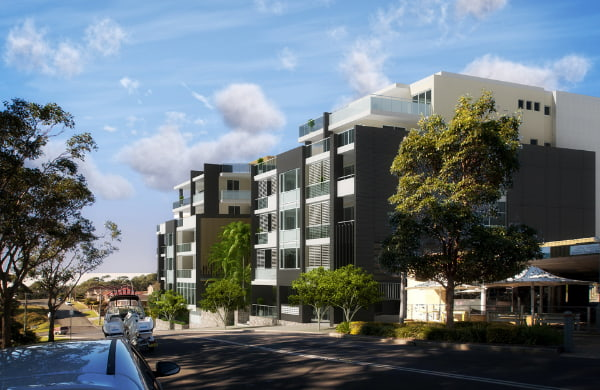 Commercial and residential apartments