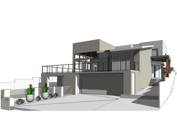 House plan 3D drawing