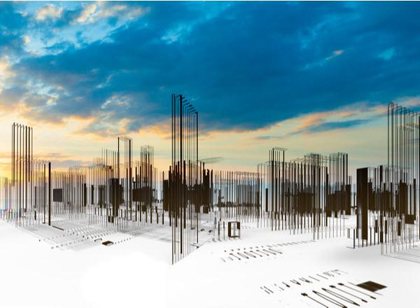 3D art architectural planning